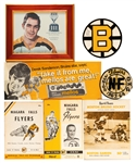 Derek Sandersons Boston Bruins/Oshawa Generals Hockey Memorabilia Collection from His Personal Collection with His Signed LOA