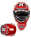 Patrick Roy 1992-93 Montreal Canadiens Signed Replica Kevlar Goalie Mask with Patrick Roys Signed LOA