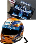 Patrick Carpentiers 2002 CART Team Players Racing Team Race-Worn Bell Helmet