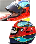 Bryan Hertas 2004 Andretti Green Racing IndyCar Team Race-Worn Bell T-6 Interceptor Helmet - Photo-Matched!