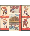 1955-56 Parkhurst Hockey Partial Set (57/79) Plus 4 Extras - Includes 18 Quaker Oats Cards