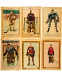 "1928-32 ""La Presse"" Hockey Picture Complete Set of 72 Including Morenz, Vezina, Hainsworth, Boucher, Clancy, Primeau, Jackson, Lionel & Charlie Conacher, Shore, Thompson, Siebert & Gardiner"