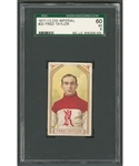 "1911-12 Imperial Tobacco C55 Hockey Card #20 HOFer Fred ""Cyclone"" Taylor - Graded SGC EX 5"