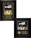 Sidney Crosby Pittsburgh Penguins Signed 2016-17 Stanley Cup Champions Framed Displays (2) with COAs