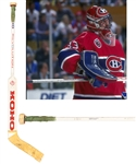 Patrick Roys 1992-93 Montreal Canadiens Koho Revolution Game-Used Stick - Conn Smythe and Stanley Cup Championship Winning Season!