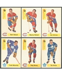 1958-59 Parkhurst Hockey Complete 50-Card Set