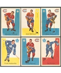 1959-60 Parkhurst Hockey Complete 50-Card Set