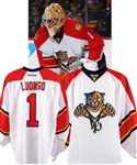 Roberto Luongos 2015-16 Florida Panthers Game-Worn Playoffs Jersey - Fanatics Authenticated! - Photo-Matched!