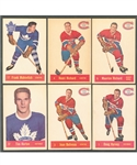 1957-58 Parkhurst Hockey Complete 50-Card Set