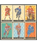 1961-62 Parkhurst Hockey Complete 51-Card Set Plus Wrapper