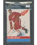 1954-55 Topps Hockey Card #8 HOFer Gordie Howe - Beckett Raw Card Review 5.0