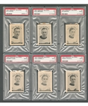 1923-24 Crescent Selkirks PSA-Graded Near Complete Card Set (11/13) - Second Current Finest PSA Set!