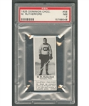 1925 Dominion Chocolate #58 M. Rutherford (with Tab) - Graded PSA 7 - Highest Graded