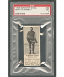 1925 Dominion Chocolate #59 Beattie Ramsay (with Tab) - Graded PSA 7 - Highest Graded
